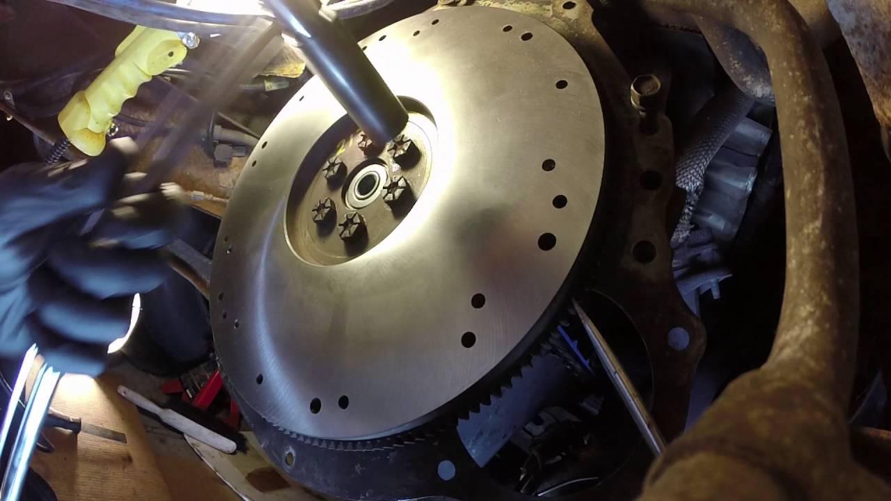 Flywheel And Clutch Install 1993 F150 Youtube 1995 Ford Xl 4 9 Engine Diagram
