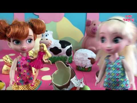Greatest Frozen Barbie & Disney Princess Dolls Movie! Chocolate Fountain! Slumber Party + Birthday!