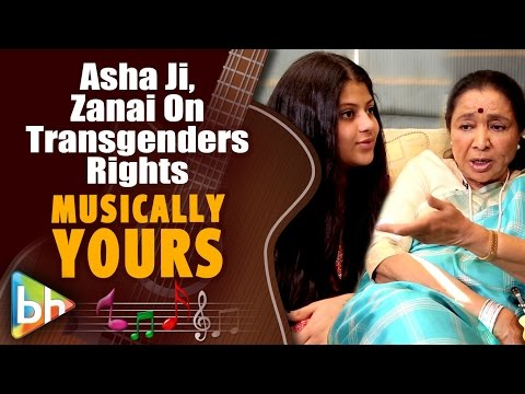 Asha Bhosle | Granddaughter Zanai Advocate For Equal Rights For Transgenders