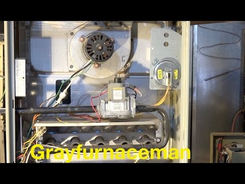 Flame rollout from a blocked heat exchanger, gas furnace