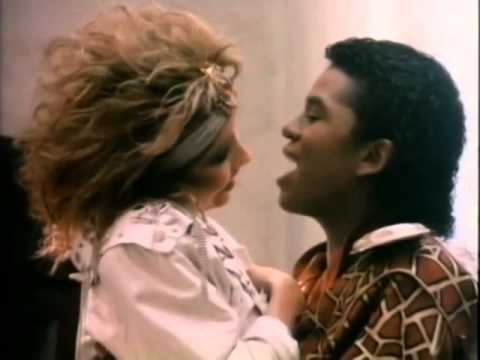 Pia Zadora & Jermaine Jackson   When The Rain Begins To Fall