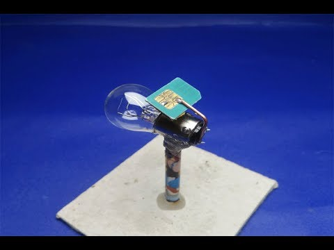 Sim Card Using Free Energy Generator - New Technology 2018