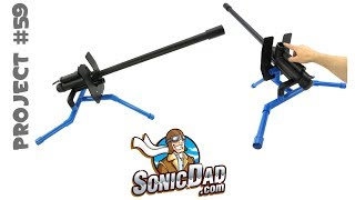 Make the Sonic Boom Carbide Cannon: SonicDad Project #59