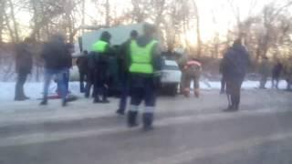 видео ДТП на трассе Пенза - Сердобск. Один человек погиб