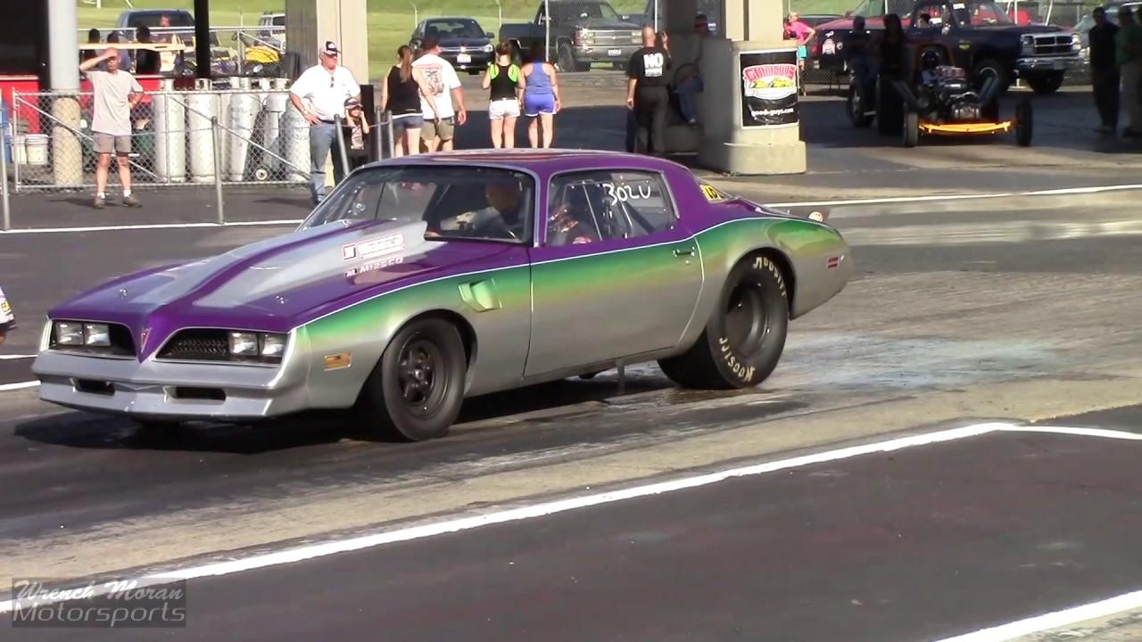 Built Pontiac Firebird Drag Racing - YouTube