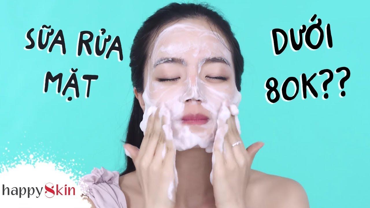 Review Sữa rửa mặt tạo bọt NIVEA mới – Làm sạch sâu đến đâu?? 💦| DRUGSTORE CLEANSER | Happy Skin