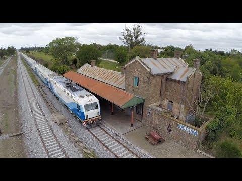 Volvió a circular el tren a Mar del Plata