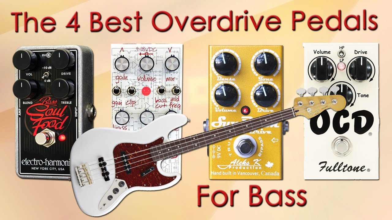the 4 best overdrive pedals on bass want 2 check youtube. Black Bedroom Furniture Sets. Home Design Ideas