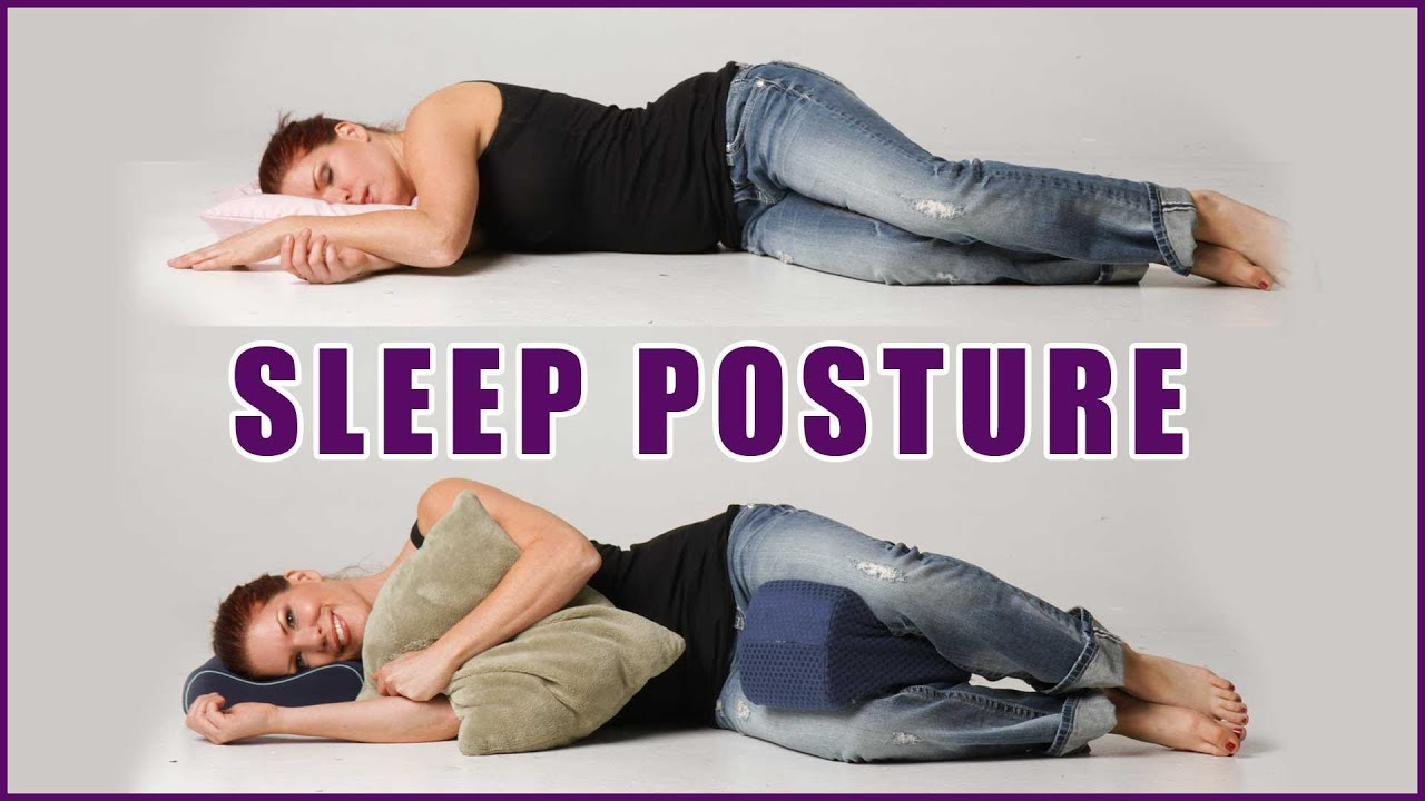 what 39 s the best sleep position improve your posture overnight back pain relief youtube. Black Bedroom Furniture Sets. Home Design Ideas
