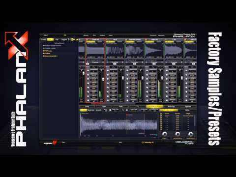 Vengeance producer suite phalanx factory content demo