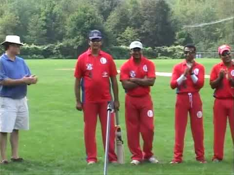 Commonweath Cricket club vs Boston Gymkhana Cricket game at