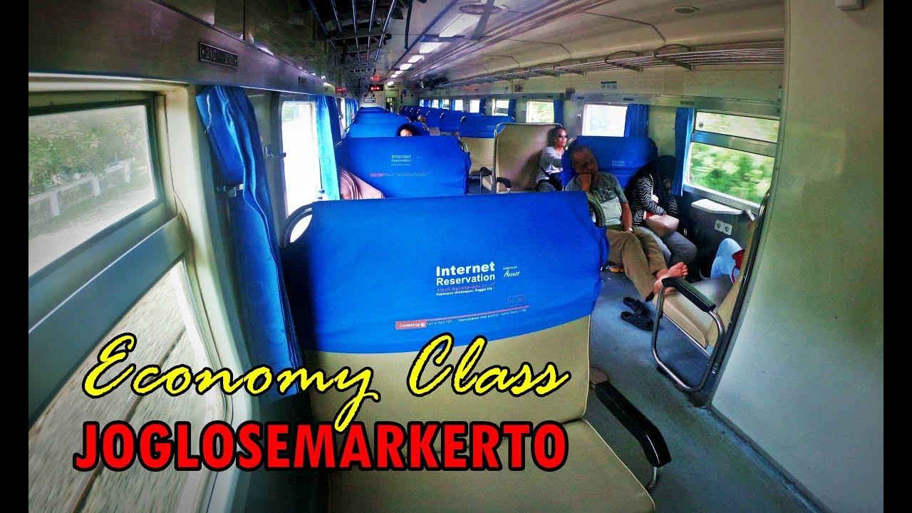 Trip By Train Joglosemarkerto Ekonomi Jarak Dekat