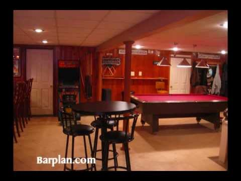 Easy Home Bar Plans Home Bar Hideout Youtube