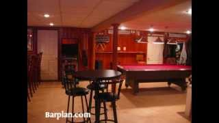 Easy Home Bar Plans - Home Bar Hideout