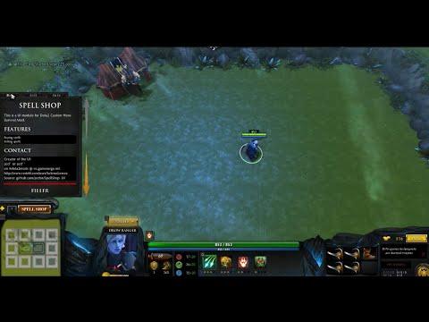 видео: Другая дота 1. Пользовательские игры в dota 2 custom hero survival