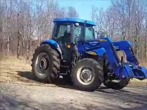 New Holland T5050 with loader