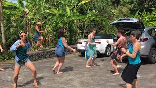 Dancing in Hawaii on International Woman's Day