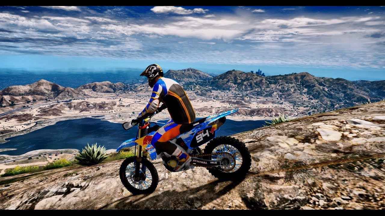 Gta 5 Redux Ultra Realistic Graphic Enb Mod Dirt Bike
