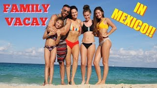 CANCUN FAMILY VACATION VLOG | The Glam Belle