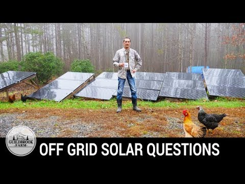 The Dirt: We Answer Questions About Living Off Grid With Solar