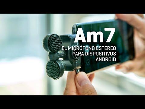 Zoom Am7, el micrófono estéreo para dispositivos Android.