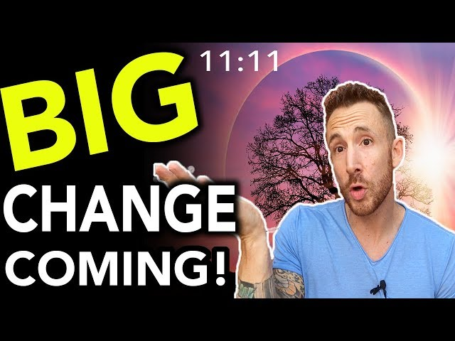 7 Signs You're About To Experience A MAJOR Life Change