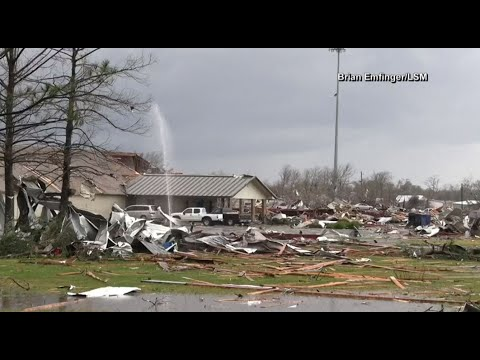 Hope Baptist School damaged by tornado
