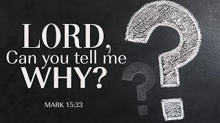 Lord, Can You Tell Me Why? | Dr. E. Dewey Smith, Jr. | Mark 15:33 (MSG)