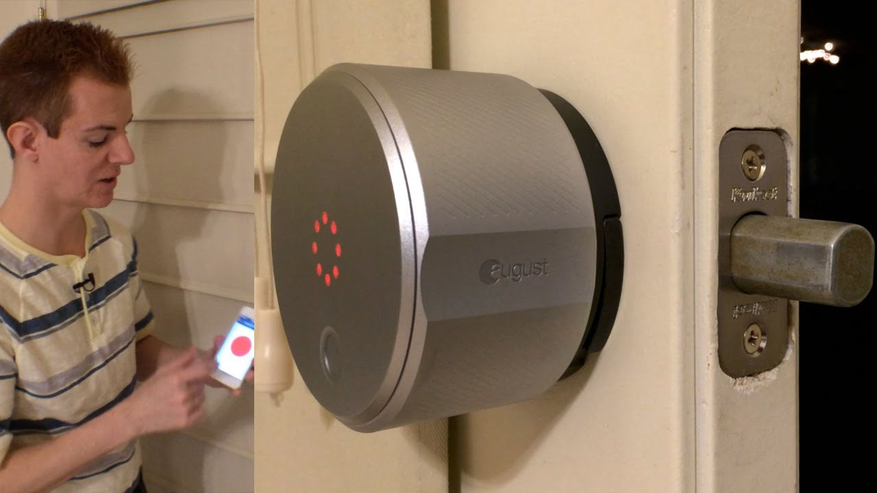 August Smart Lock Hands On Review And Intro To Smart Locks
