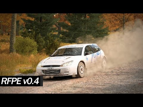 Ford Focus RS Rally 2001 RFPE mod - DiRT 4 TV cam replay