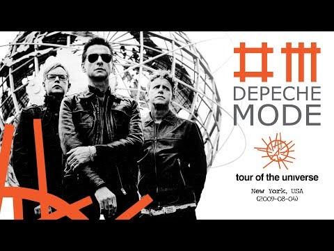 Depeche Mode - Tour Of The Universe (2009,  New York, USA)(2009-08-04)