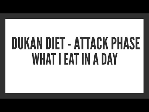 Dukan Diet (Attack Phase) -  What I Eat In A Day