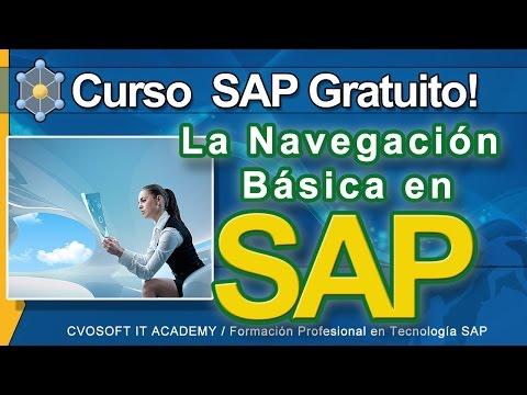 Curso SAP Gratuito - Tutorial Mi primer Navegación por el Sistema SAP | CVOSOFT.com