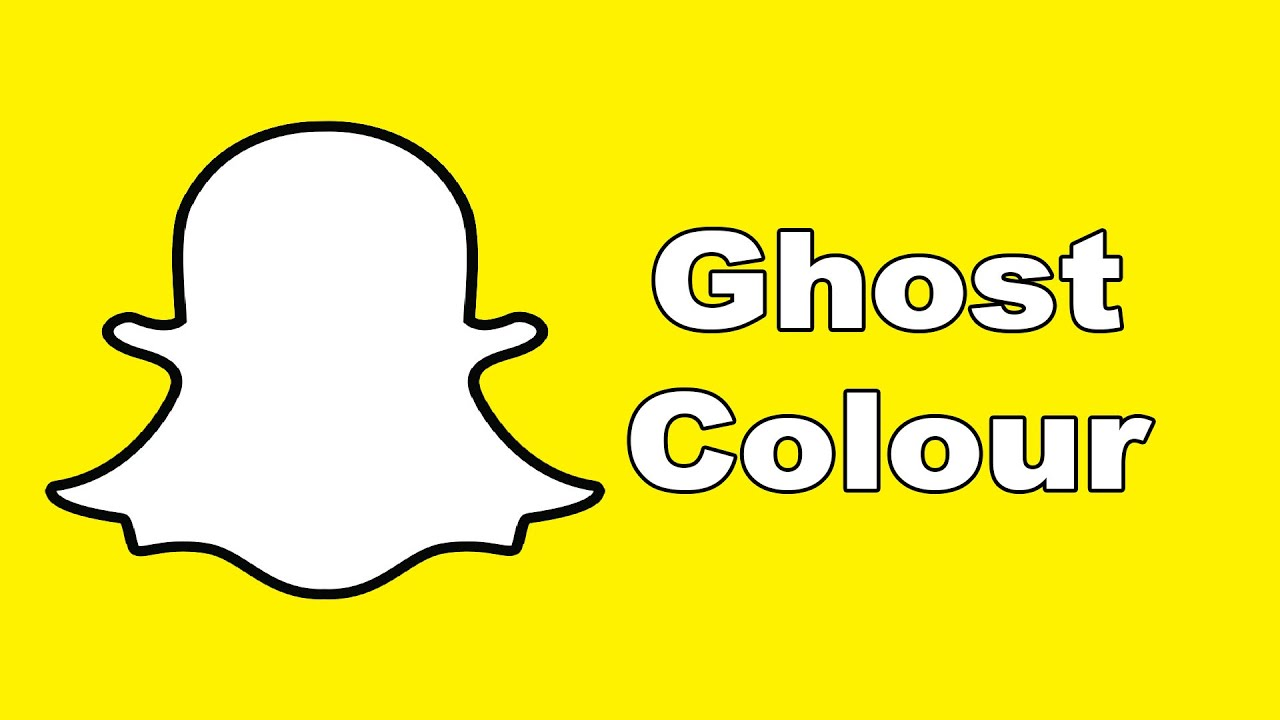 snapchat hacks change ghosts colour youtube - Ghost Pictures To Color
