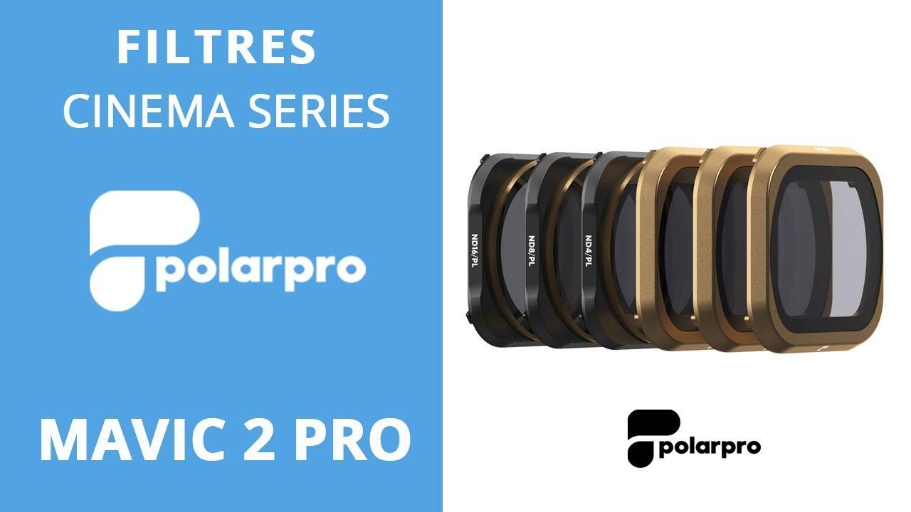 video Filtres ND/PL Polarpro VIVID Collection – MAVIC 2 Pro