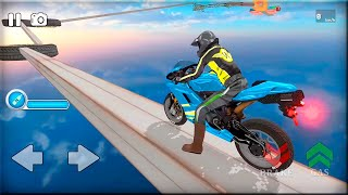 Impossible Bike Stunts 3D Game - New Bike Unlocked - Android Gameplay