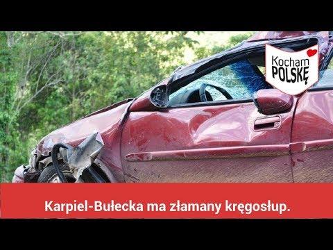Karpiel-Bułecka ma złamany kręgosłup. Tragiczny wypadek muzyka