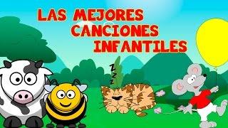 Las Mejores CANCIONES INFANTILES Para Bailar en Fiestas/Rondas Infantiles en español familia spanish