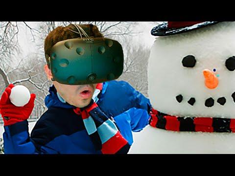 SUDANDO EN LA NIEVE!! Snow Fortres (HTC Vive VR)