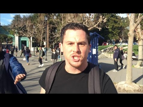 Assault & Battery on Conservative Activist at UC Berkeley - Real Hate Crime