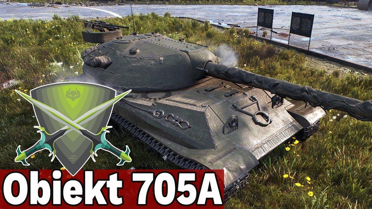ŚWIETNY PANCERZ? – Obiekt 705A – World of Tanks