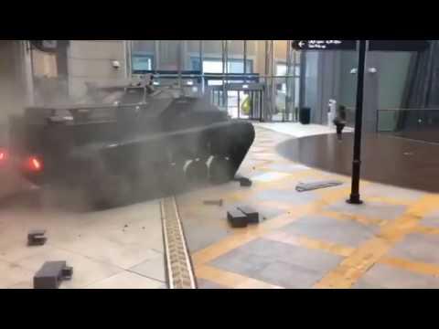 Driving A Tank in Dubai Mall l Fast & Furious 8