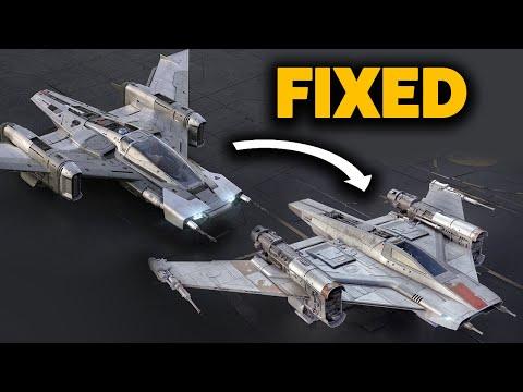 Fixing Porsche's Star Wars Ship