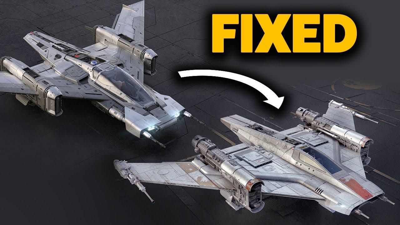 Fixing Porsche\u0027s Star Wars Ship