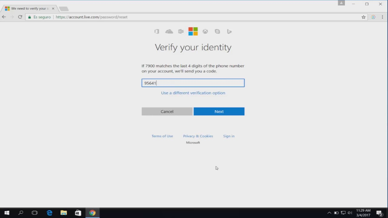 how to make a microsoft live account