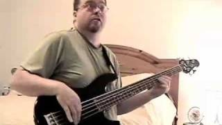 The Chicken bass playalong (Jaco, JB
