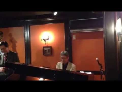 """It's a blue world"" by ePAQ (em's Pro Ama Quartet) at Jazz & Bar em's in Ginza, Tokyo"