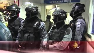 فيديو.. قوات الاحتلال تقتحم مستشفى المقاصد بالقدس