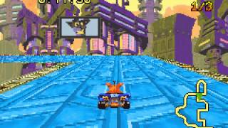 Crash Nitro Kart - Vizzed.com GamePlay - User video