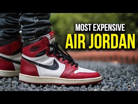 purchase cheap 12e2c ef6ce Top 5 Most Expensive Air Jordan Sneakers Ever Sold
